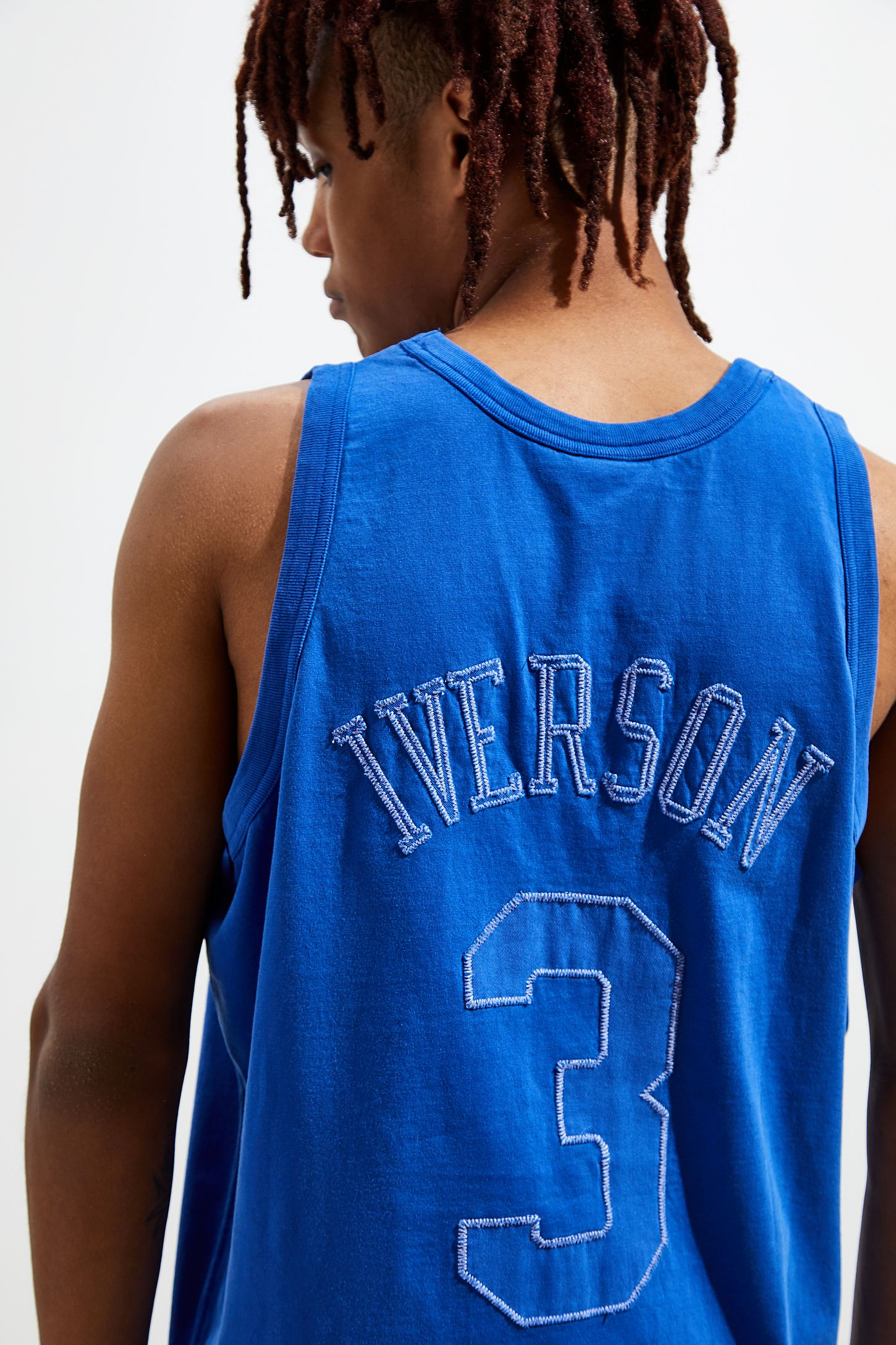 timeless design 01765 4be58 Mitchell & Ness Philadelphia 76ers Allen Iverson Washed Out Basketball  Jersey