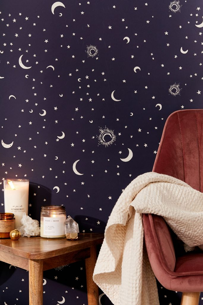 Celestial Removable Wallpaper Urban Outfitters