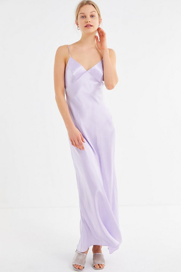 2971316ecf3d UO Romi Open-Back Maxi Slip Dress | Urban Outfitters