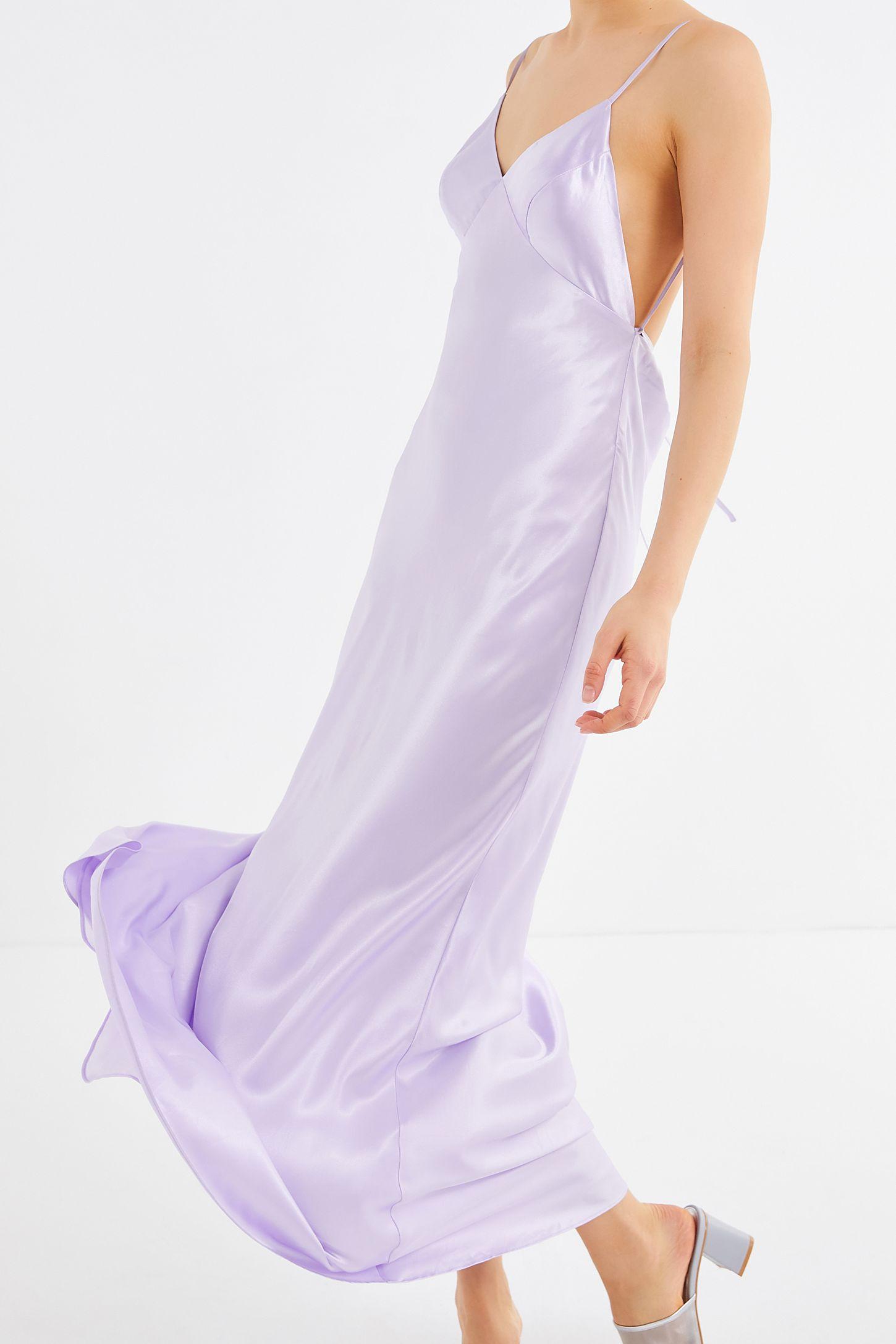 39227118aad Slide View  5  UO Romi Open-Back Maxi Slip Dress