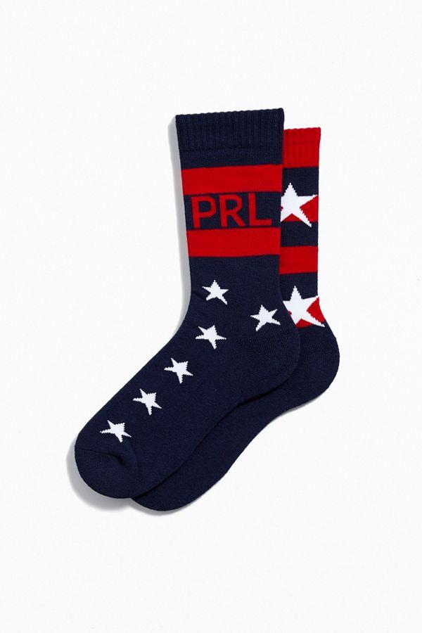 Ralph StarsStripes Polo Polo Sock Lauren Ralph cL5A34jRq