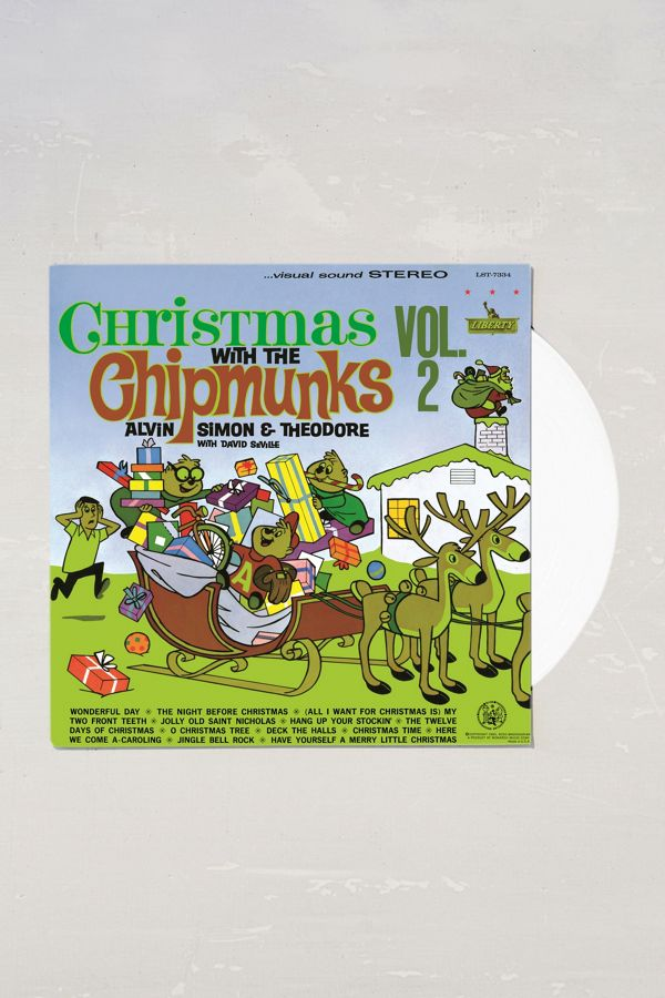 Alvin And The Chipmunks Christmas.Alvin The Chipmunks Christmas With The Chipmunks Vol 2 Lp