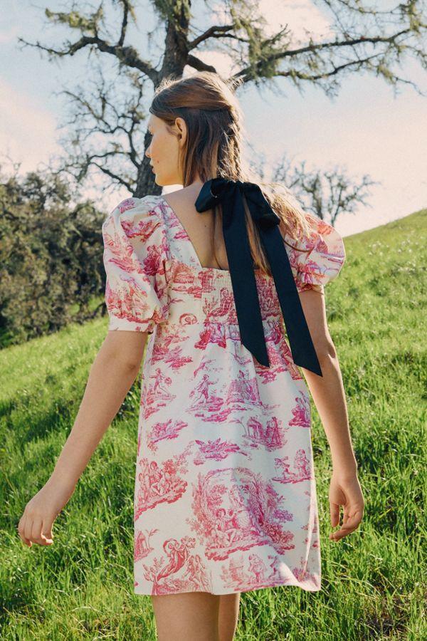 Laura Ashley UO Exclusive Penelope Toile Babydoll Dress | Urban ...