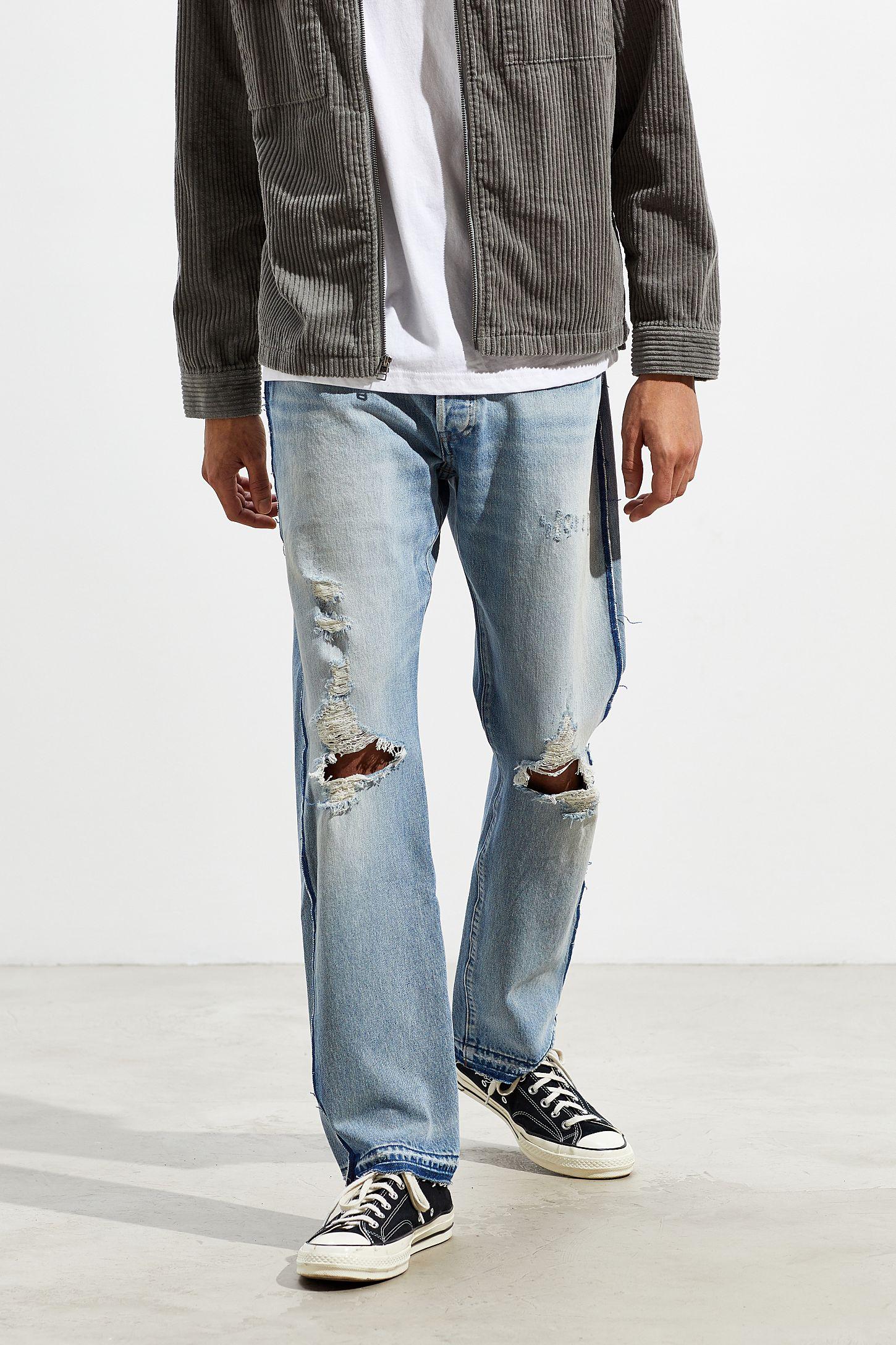price reduced performance sportswear best wholesaler Levi's 501 Inside Out Slim Jean