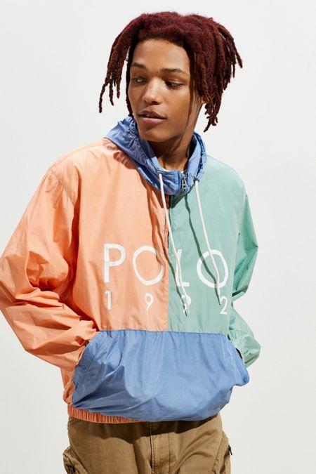 365f9fc553c5 Polo Ralph Lauren Nylon Colorblock Windbreaker Jacket. Quick Shop