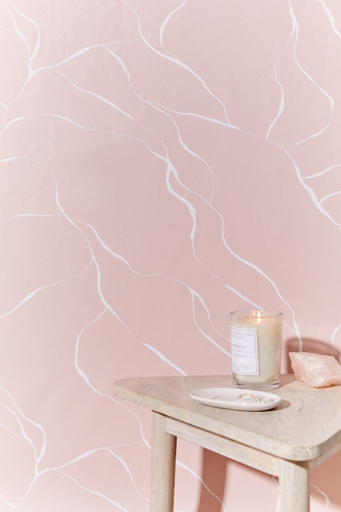 Pink Current Removable Wallpaper Urban Outfitters