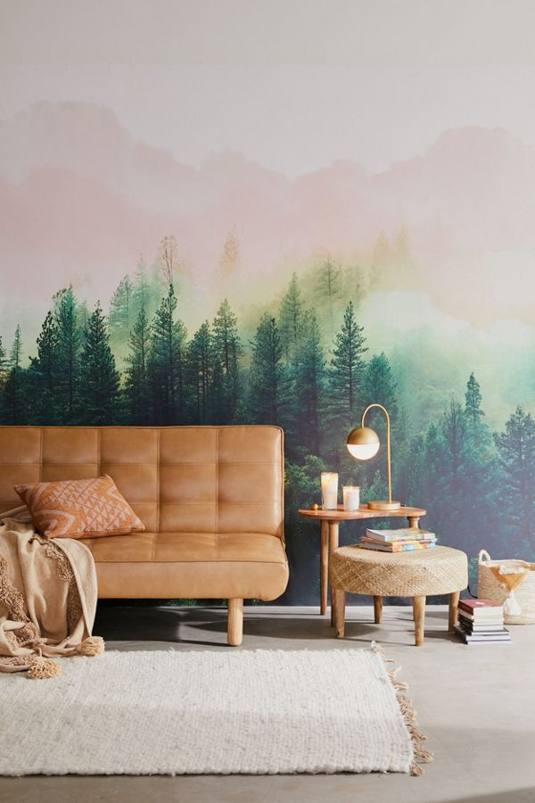 Mountain Landscape Wall Mural Urban Outfitters