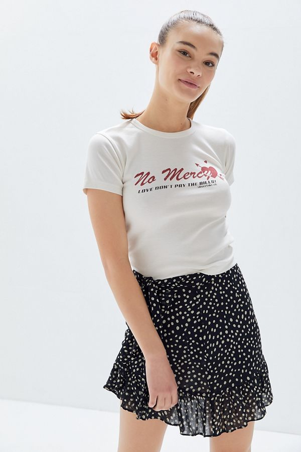 No Mercy Cherub Baby Tee by Urban Outfitters