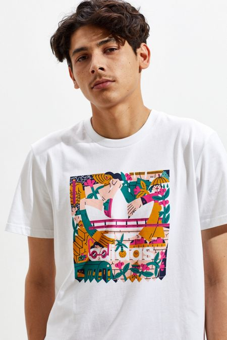 ea0ab9954 White - Graphic T-Shirts + Sweatshirts For Men | Urban Outfitters