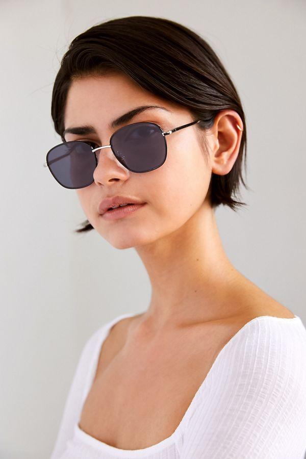 Metal Sunglasses Metal Harlow Square Square Square Harlow Sunglasses Sunglasses Metal Harlow vIf76gYbym