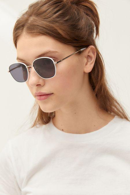 e8cf33e480 Harlow Metal Square Sunglasses