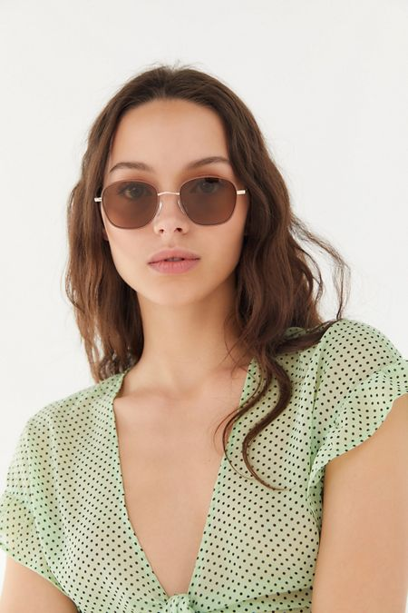 bec0a78f90325 Harlow Metal Square Sunglasses