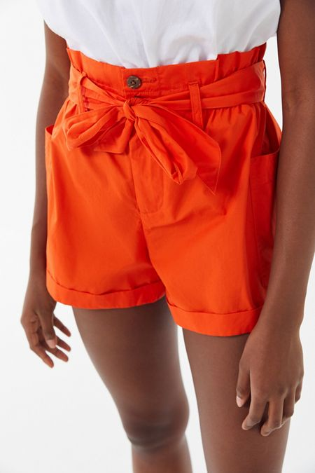 3777ae35d87e UO Josie Belted Paperbag Short · Quick Shop