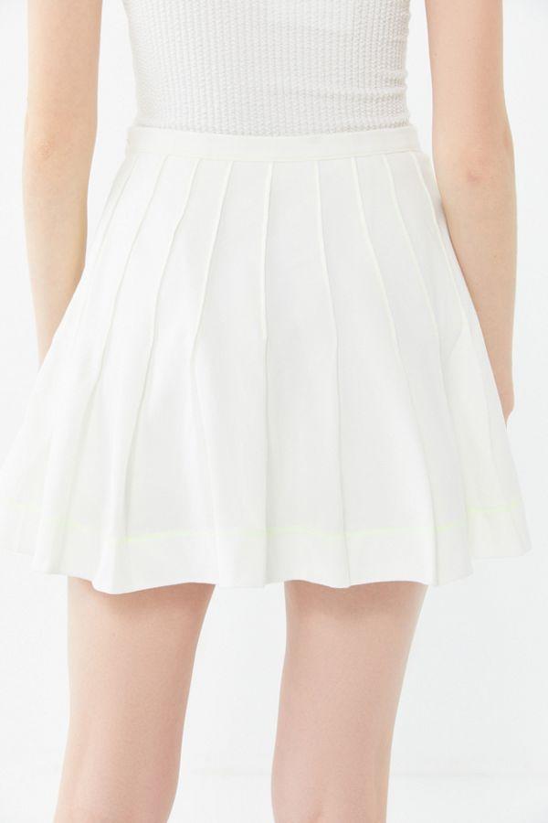 7f0871e0a UO Mia Pleated Mini Skirt | Urban Outfitters Canada
