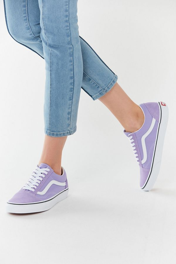 vans old skool violet