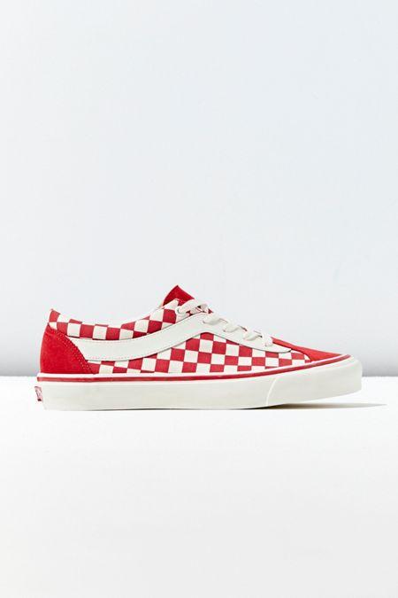 2e98f2a124 Green. Vans Bold Ni Checkerboard Sneaker