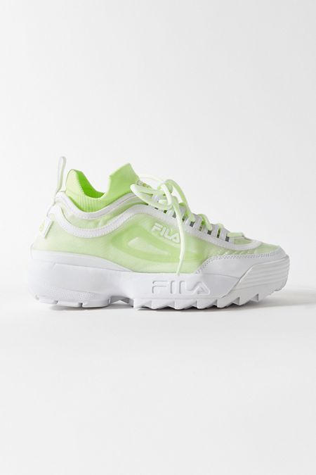 17650699bb FILA UO Exclusive Disruptor 2 Sock Mesh Sneaker