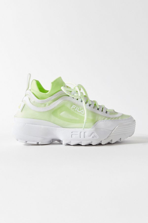 FILA UO Exclusive Disruptor 2 Sock Mesh Sneaker