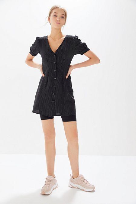 45e6f55f1a Urban Renewal Remnants Menswear Pinstripe Mini Dress