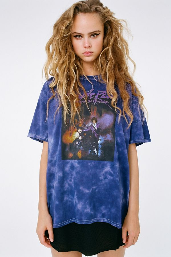 fed7107f8d0d Prince Purple Rain Tee | Urban Outfitters