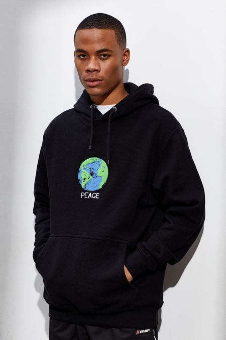 975ac4629afe Altru Apparel World Peace Hoodie Sweatshirt