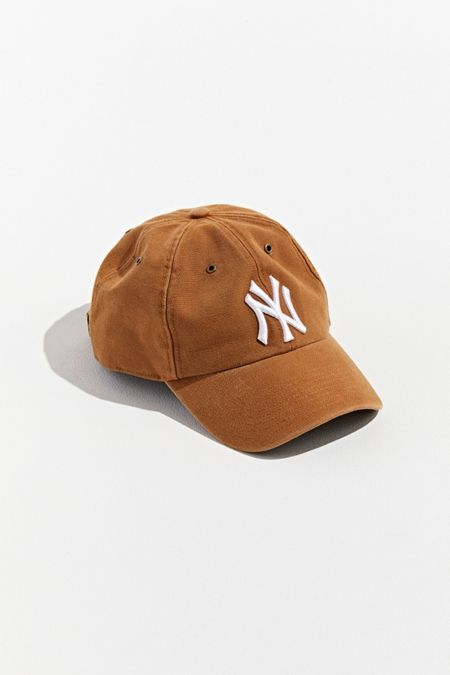 cfe54d257f6  47 Brand X Carhartt New York Yankees Dad Baseball Hat