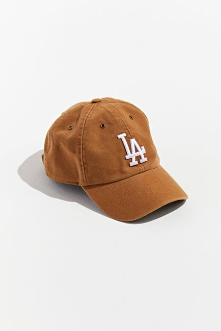 8cc32bee704b3  47 Brand X Carhartt Los Angeles Dodgers Dad Baseball Hat
