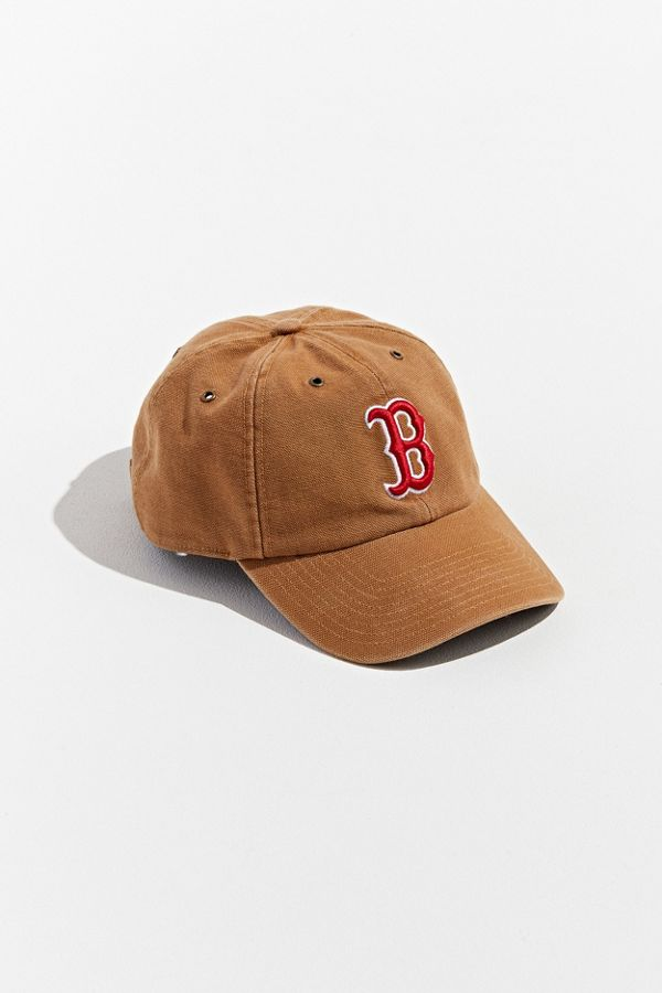 huge sale b8304 a7685 Slide View  1   47 Brand X Carhartt Boston Red Sox Dad Baseball Hat