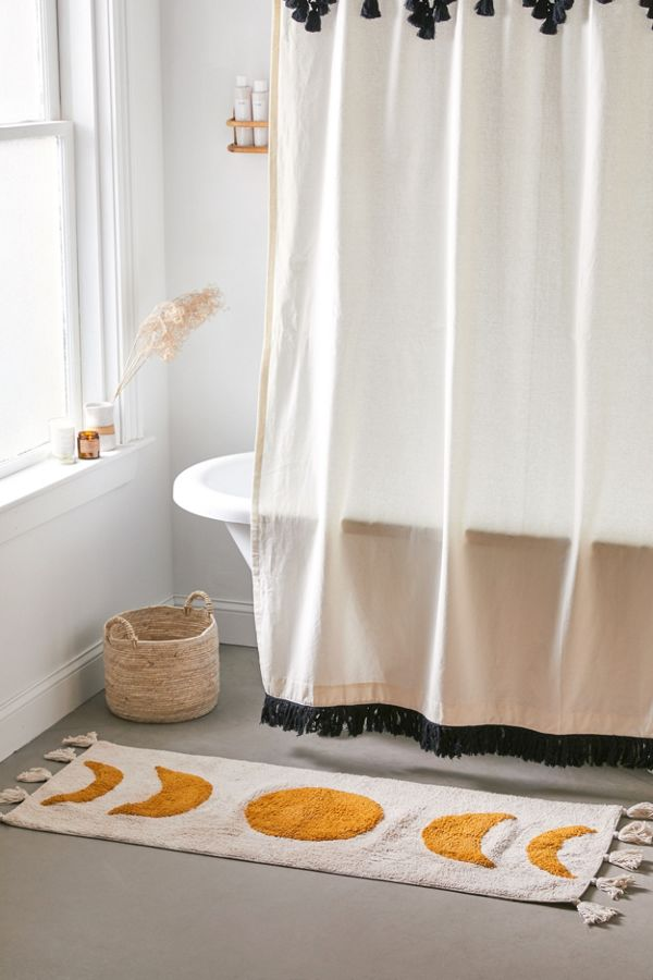 Slide View: 1: Moon Phase Runner Bath Mat