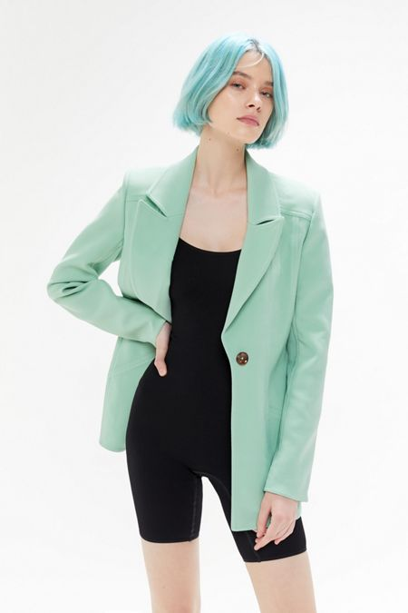 b18d11146fa C meo Collective High Heart Button-Front Blazer