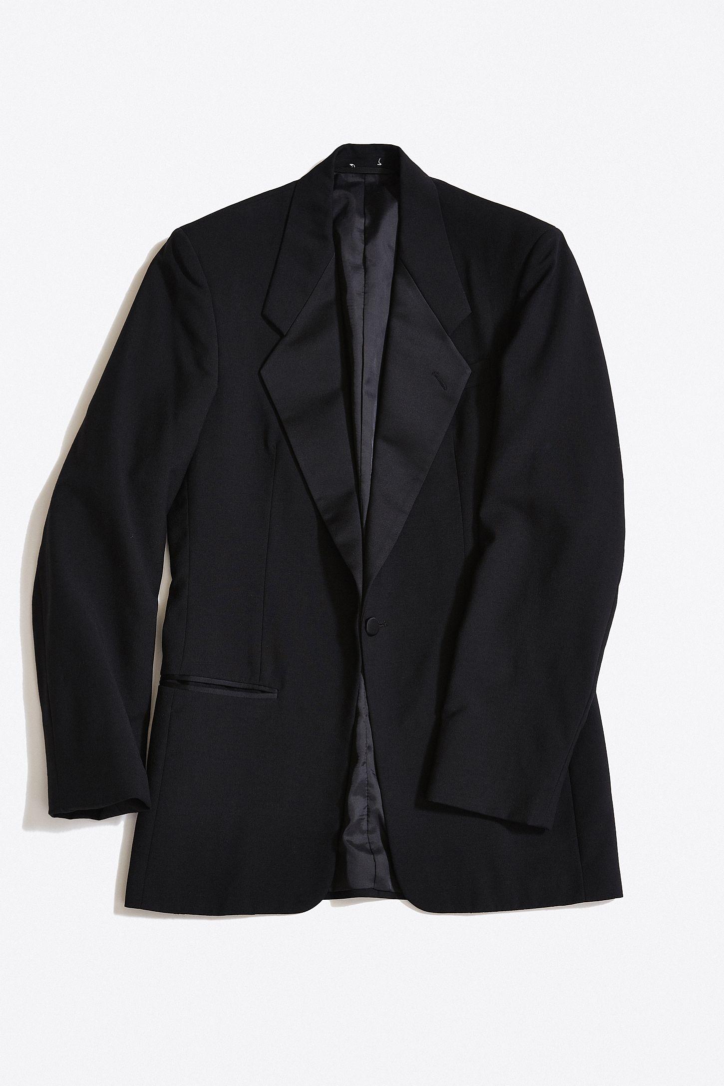 1d248afecb2 Vintage Yves Saint Laurent Tuxedo Jacket | Urban Outfitters