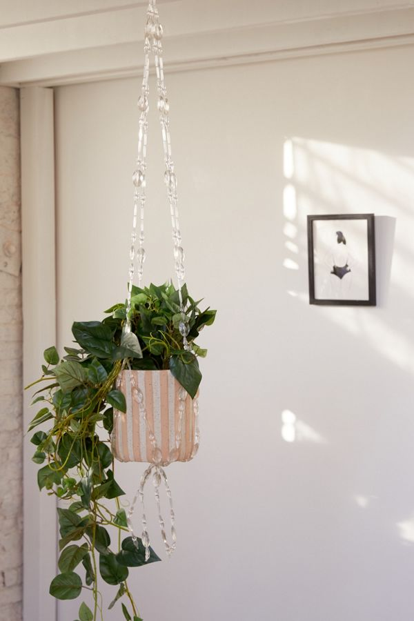 Slide View: 1: Tessie Hanging Planter Holder
