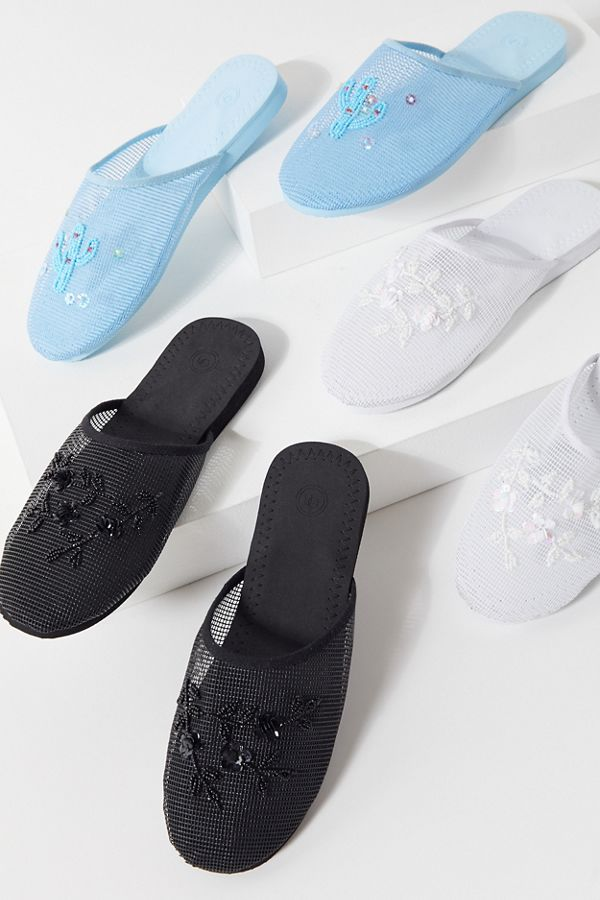 a16977a6e7ddb UO Beaded Market Slide Sandal | Urban Outfitters