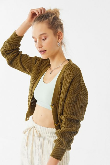 656cb8b849f39 Cropped Sweaters + Cardigans For Women | Urban Outfitters