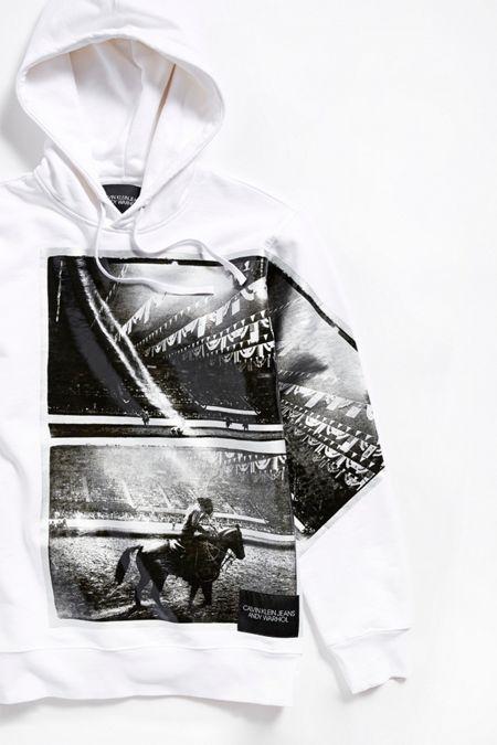7072d1211fa Calvin Klein X Andy Warhol Foiled Rodeo Hoodie Sweatshirt