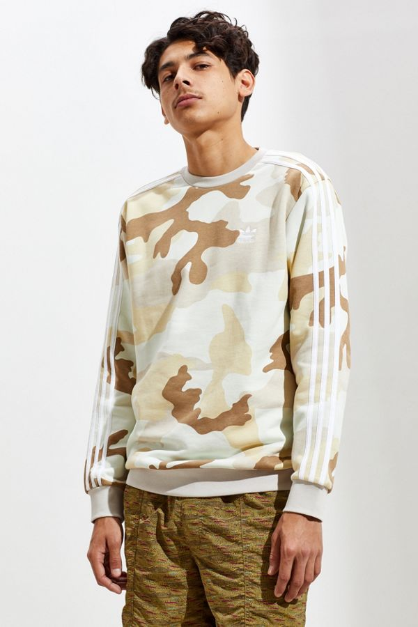 outlet boutique good looking later adidas Camo Crew Neck Sweatshirt