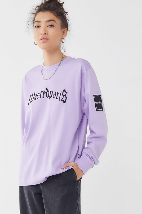b3a16b6f94c429 Wasted Paris Bridge Long Sleeve Tee | Urban Outfitters