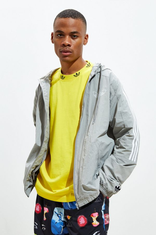 Slide View: 2: adidas Outline Trefoil Windbreaker Jacket