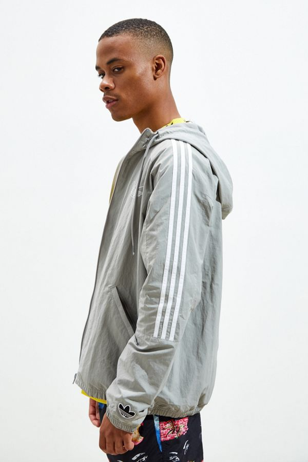 Slide View: 3: adidas Outline Trefoil Windbreaker Jacket