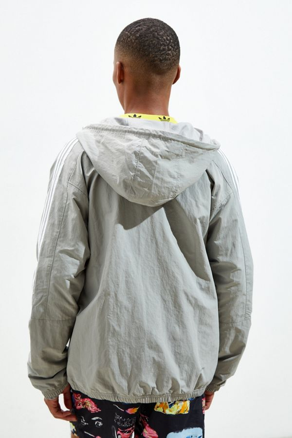 Slide View: 4: adidas Outline Trefoil Windbreaker Jacket