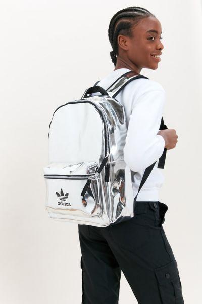adidas mini backpack silver metallic off 54% skolanlar.nu