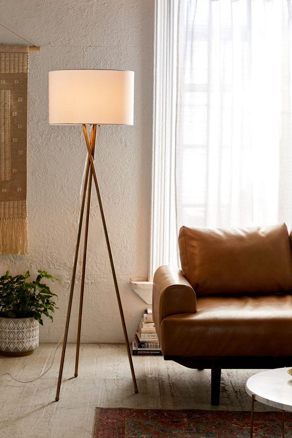 Clara Tripod Floor Lamp Urban Outfitters