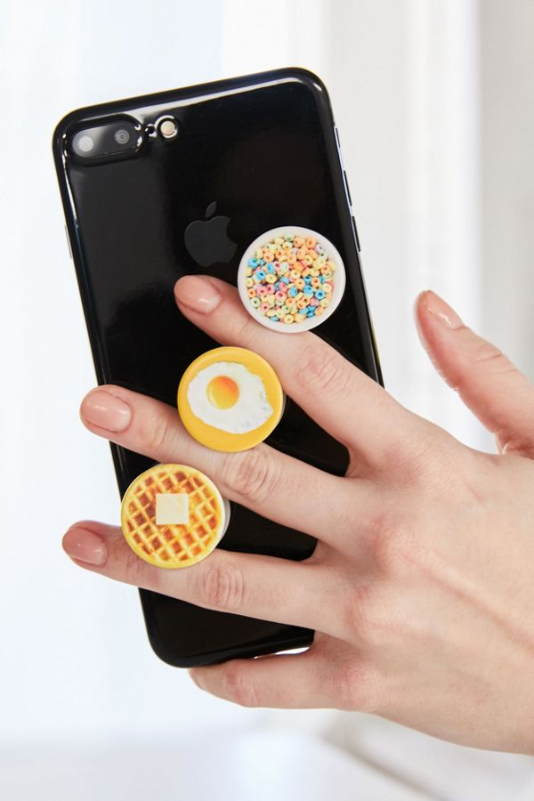 Slide View: 1: PopSockets PopMinis Breakfast Club Phone Stand Set