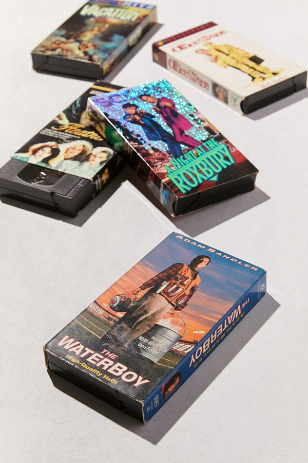 Studiohouse Designs Assorted 90s Comedy Vhs Tape Set Of 5