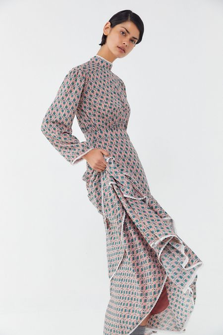94aaef3ad6e Sister Jane Backrush Tiered Ruffle Maxi Dress