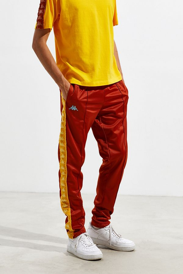 788210c81e2 Kappa UO Exclusive Astoria Velvet Tape Track Pant | Urban Outfitters