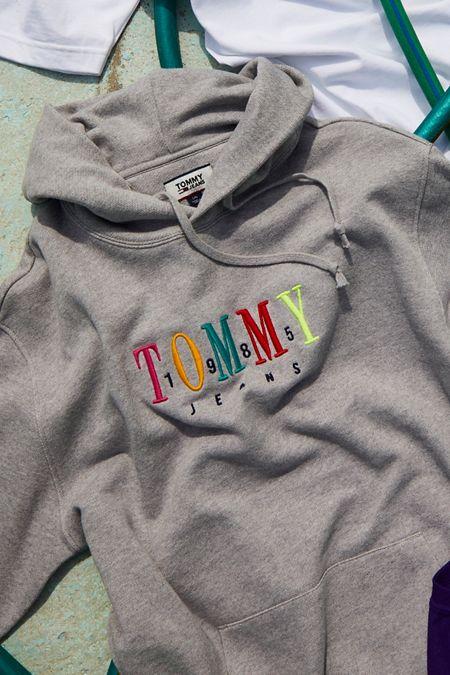1e60e5d6 Tommy Jeans Multicolor Logo Hoodie Sweatshirt
