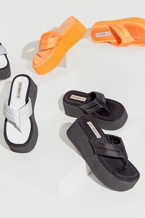 533e055c9b4 Steve Madden UO Exclusive Platform Thong Sandal
