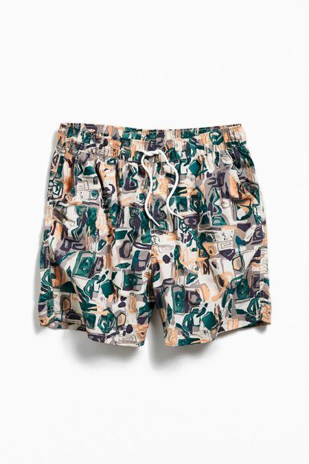 067fd9ede2760 UO Printed Swim Short. Quick Shop