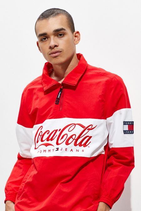 349f11944a9 Tommy Jeans X Coca-Cola Popover Jacket
